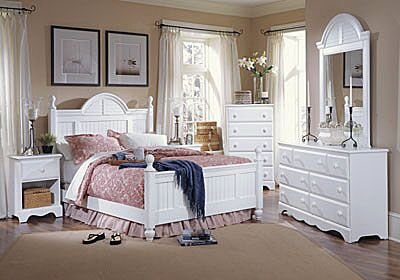 Kai Cottage Panel Configurable Bedroom Set