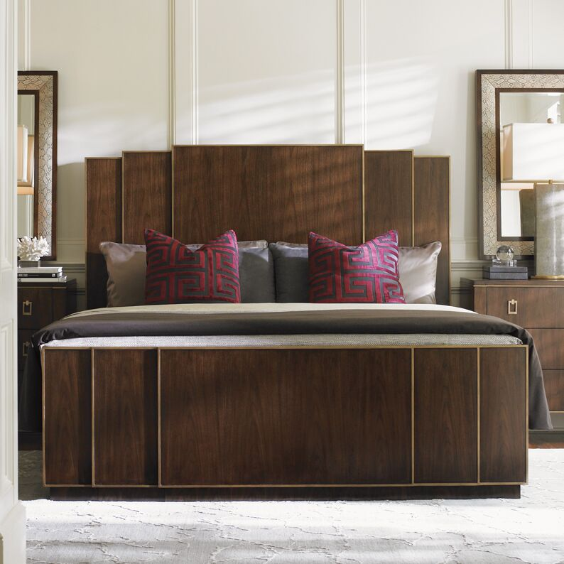 Tower Place Panel Bed Size: King
