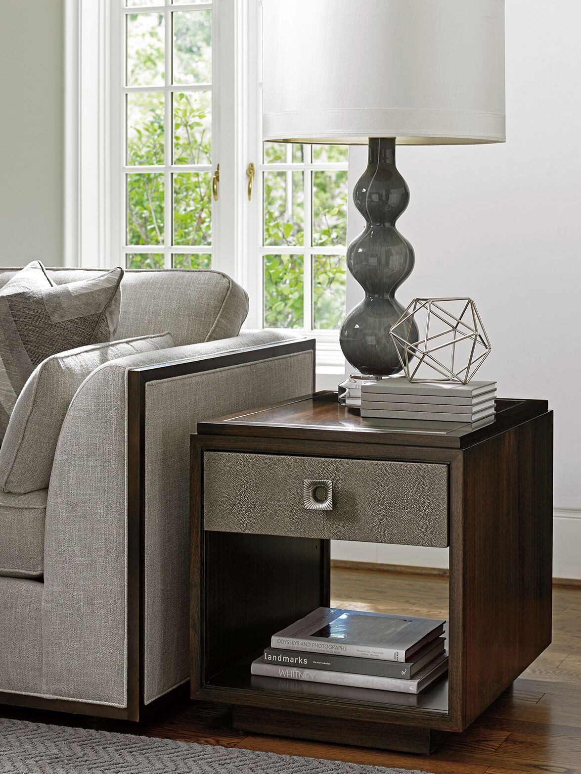 MacArthur Park Chenault End Table with Storage