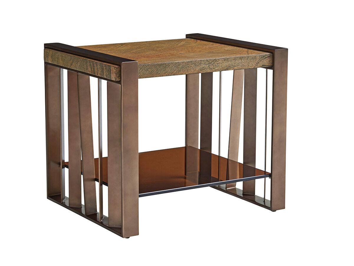 Zavala Intersect End Table
