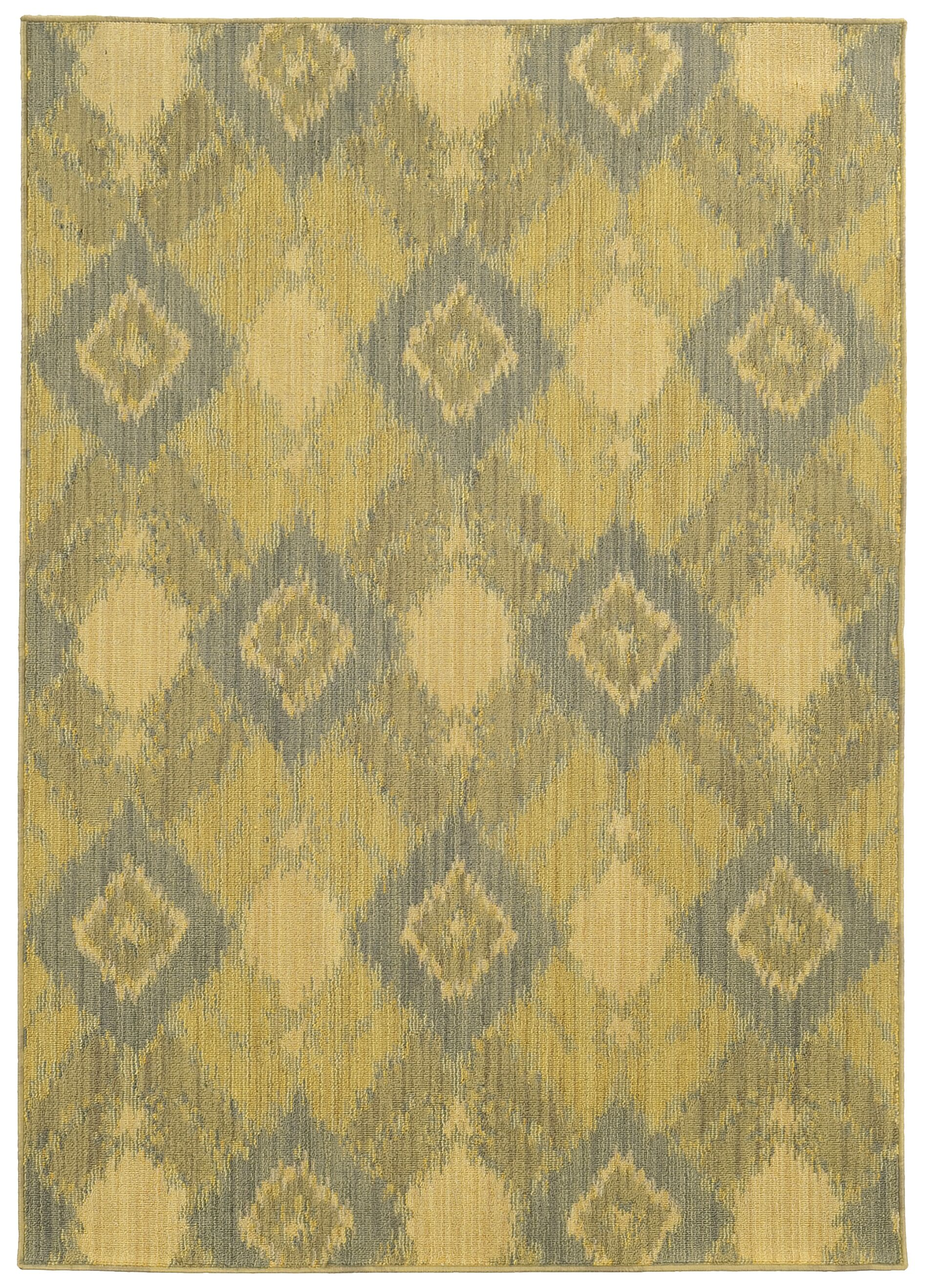 Tommy Bahama Cabana Green / Blue Geometric Indoor/Outdoor Area Rug Rug Size: Rectangle 6'7