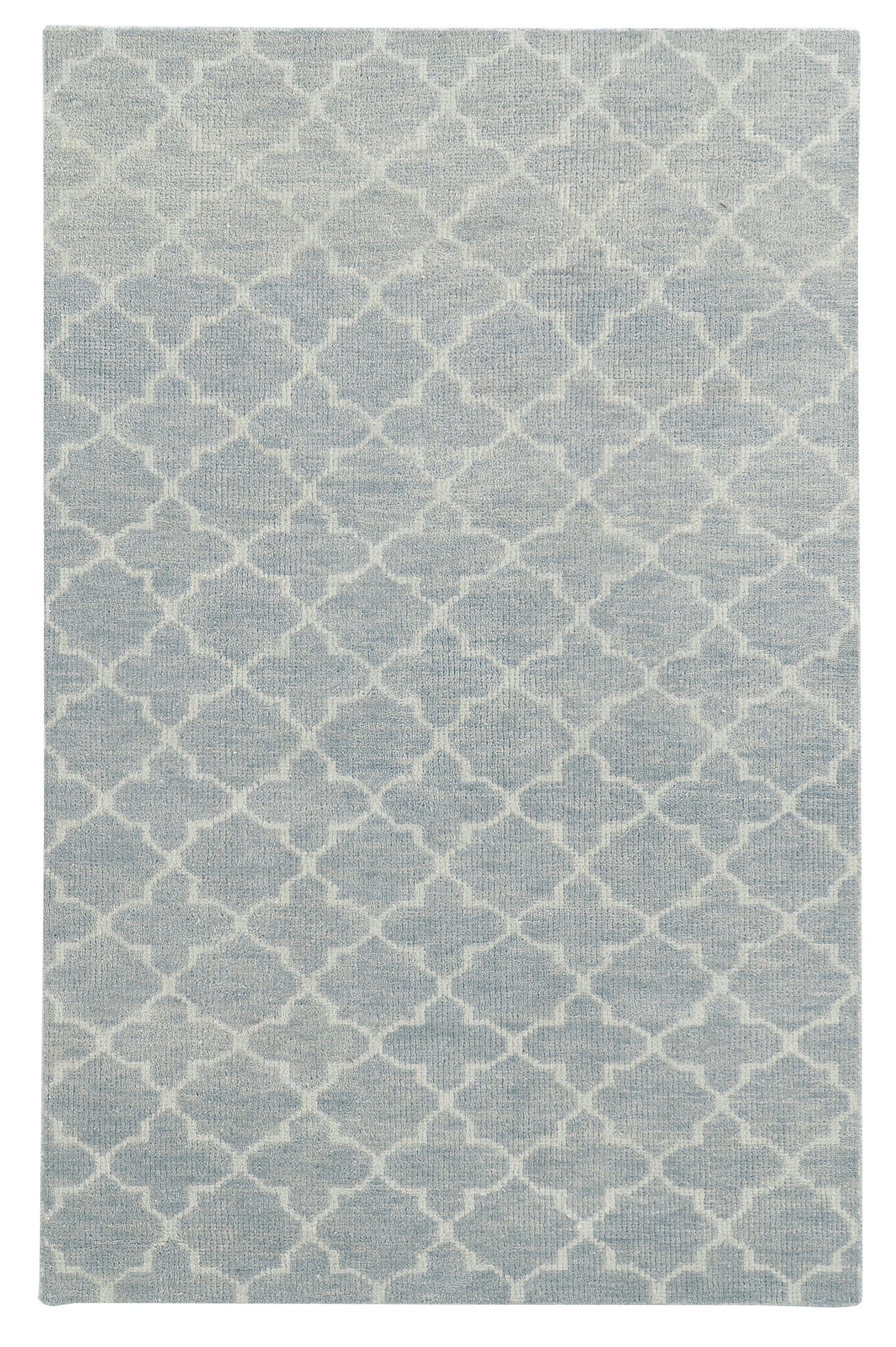 Tommy Bahama Maddox Blue / Beige Geometric Rug Rug Size: Rectangle 5' x 8'