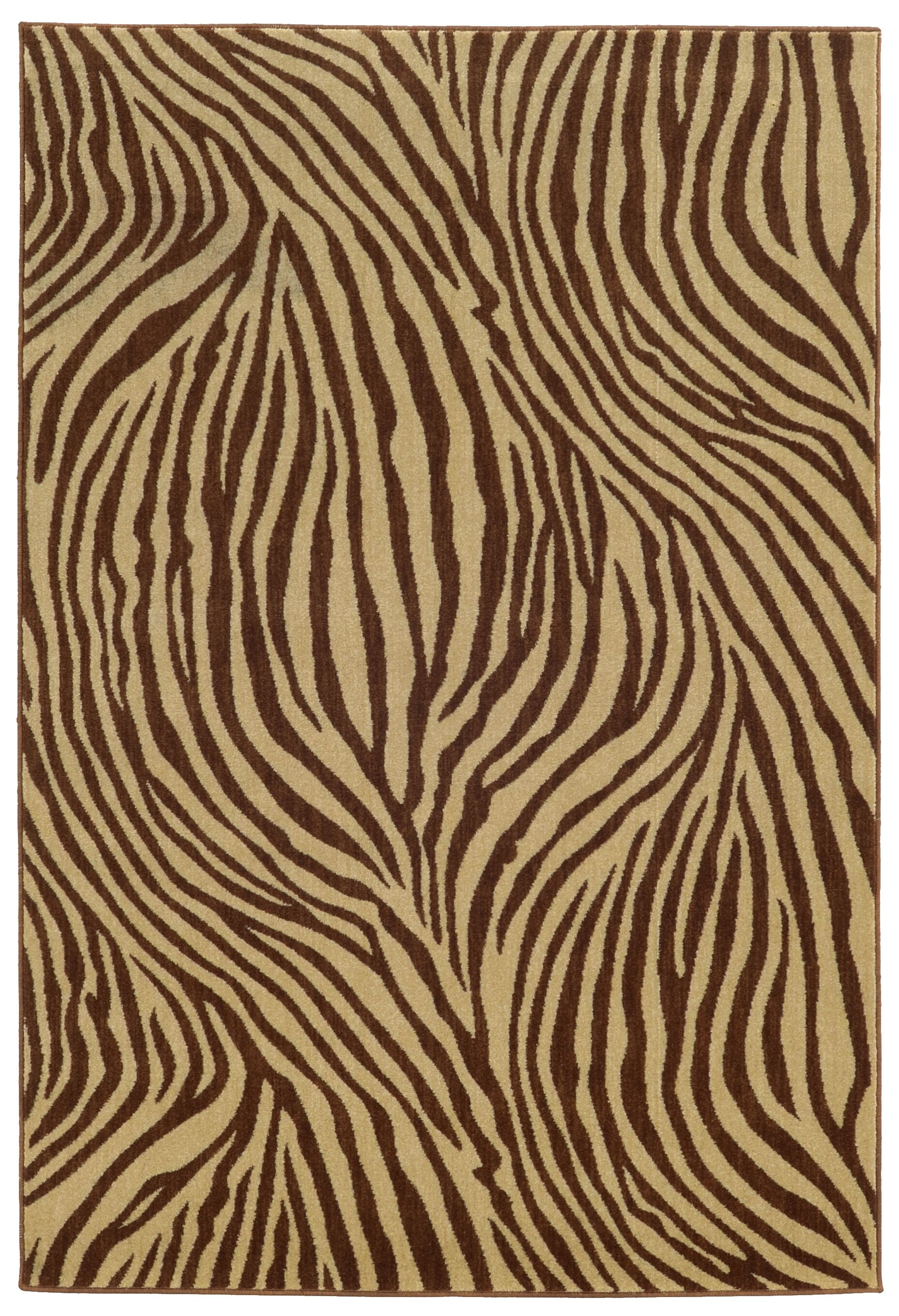 Tommy Bahama Voyage Beige / Brown Abstract Rug Rug Size: Rectangle 5'3