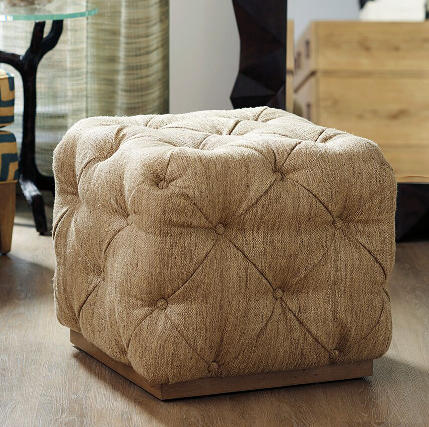 Los Altos Ottoman Upholstery: Beige