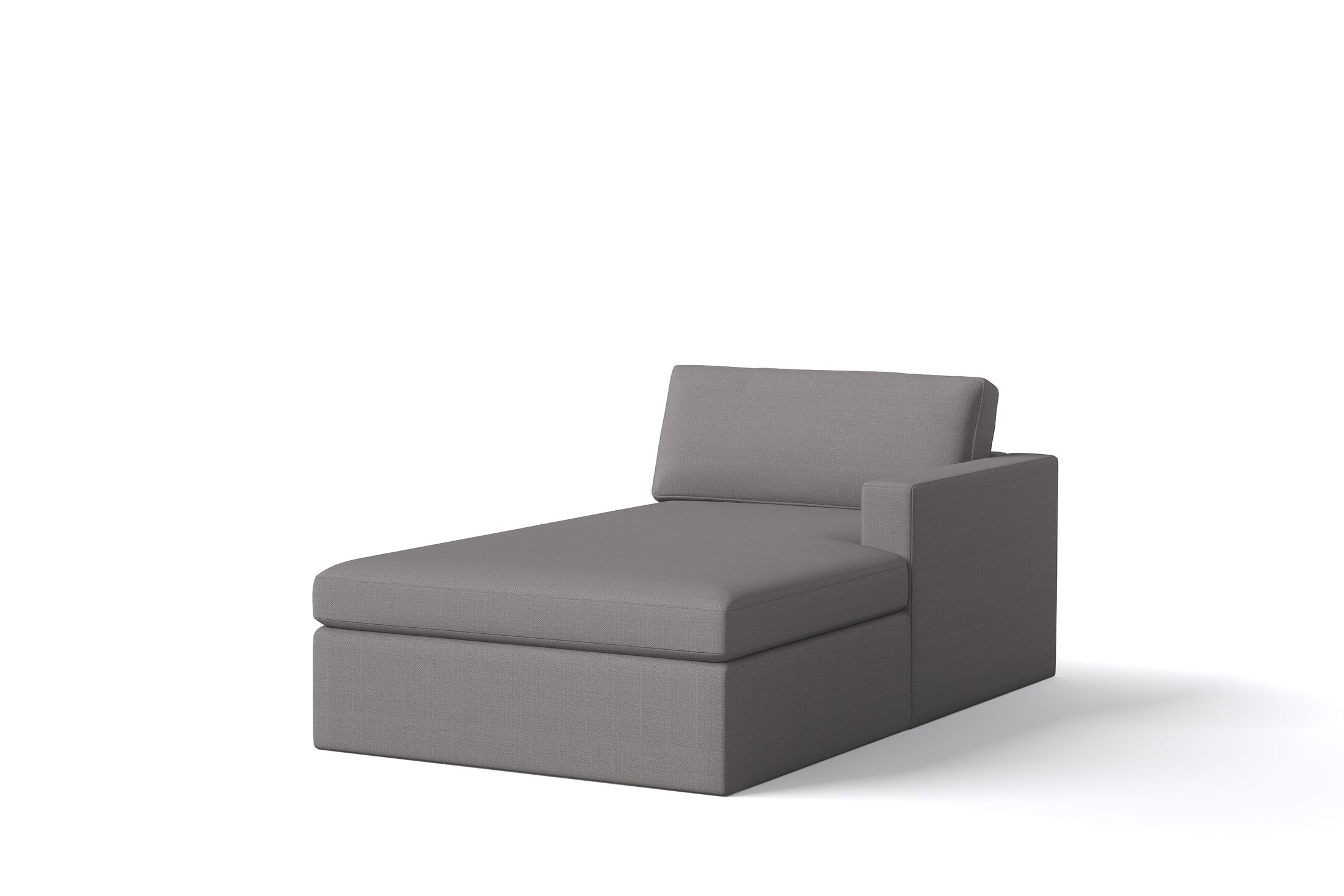 Marfa Chaise Orientation: Right Hand Facing, Body Fabric: Klein Ivory