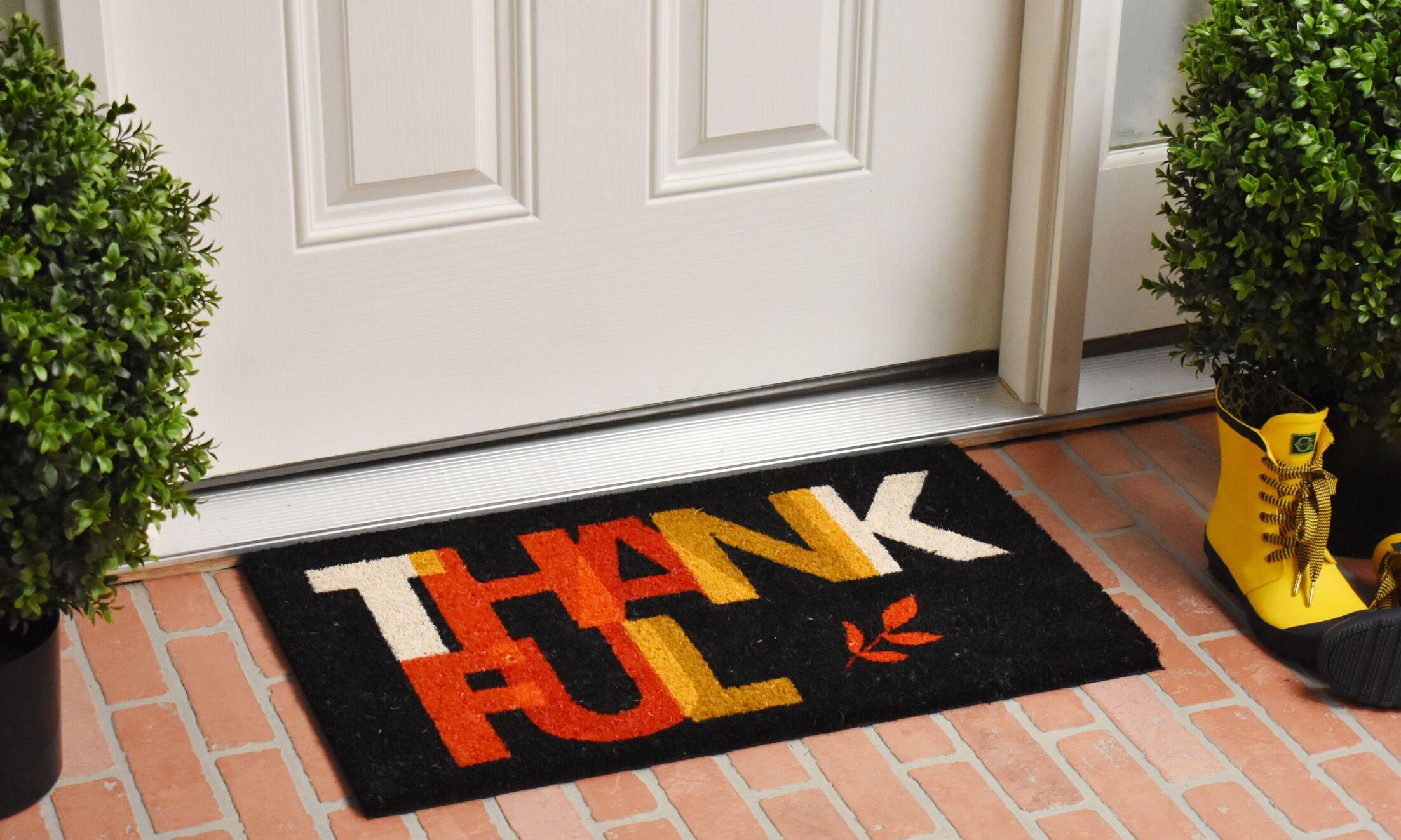 Rael Thankful Doormat