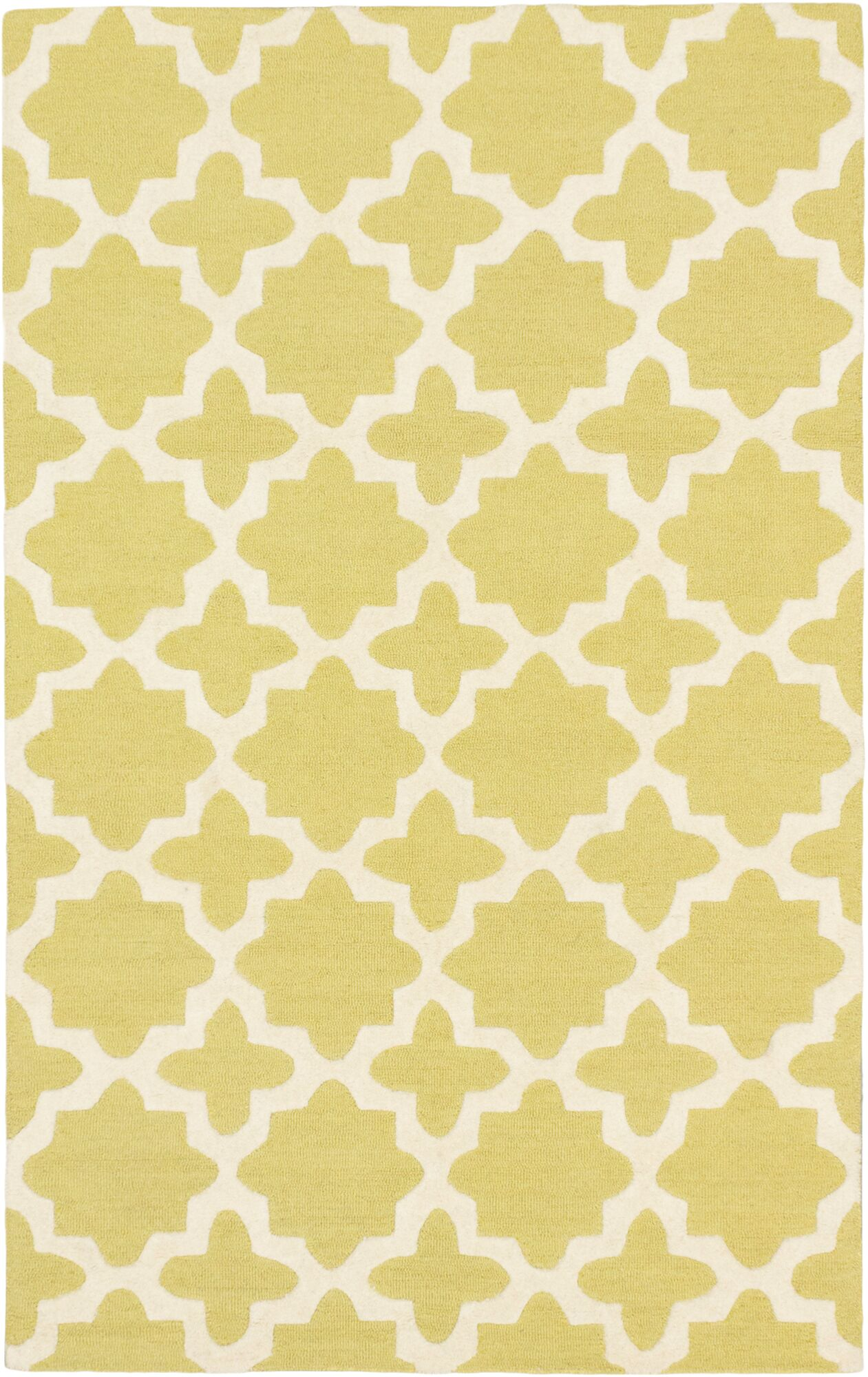 Sherly Casual Hand Tufted Cream Area Rug