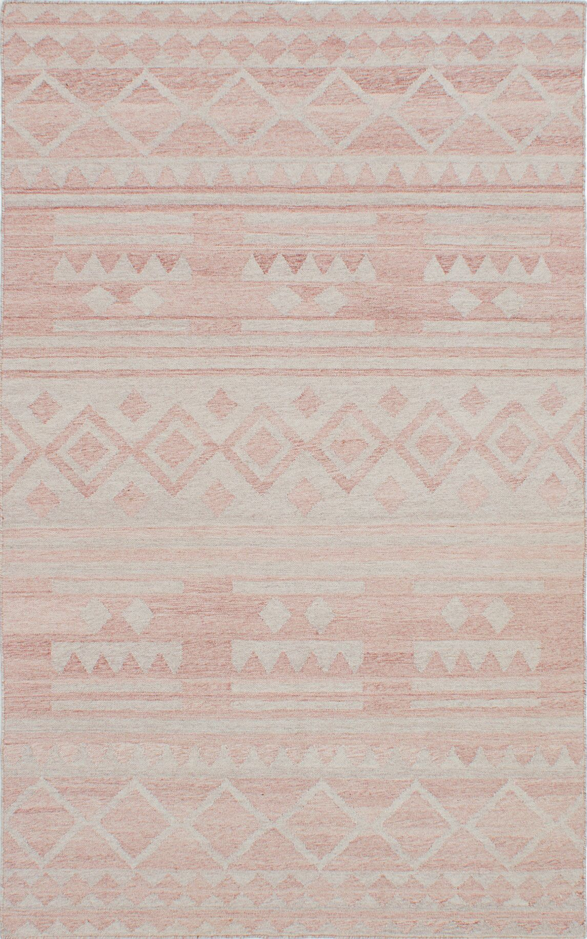 Tribeca Hand-Woven Brown/Gray Area Rug Rug Size: 5' x 8'