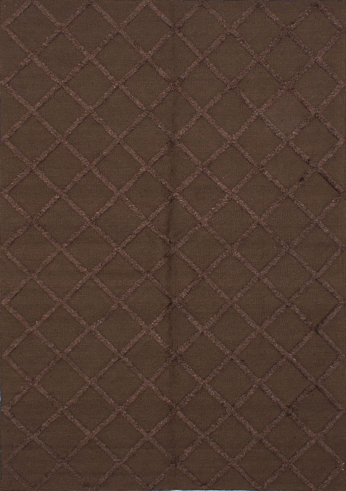 Bonefield Dark Brown Area Rug