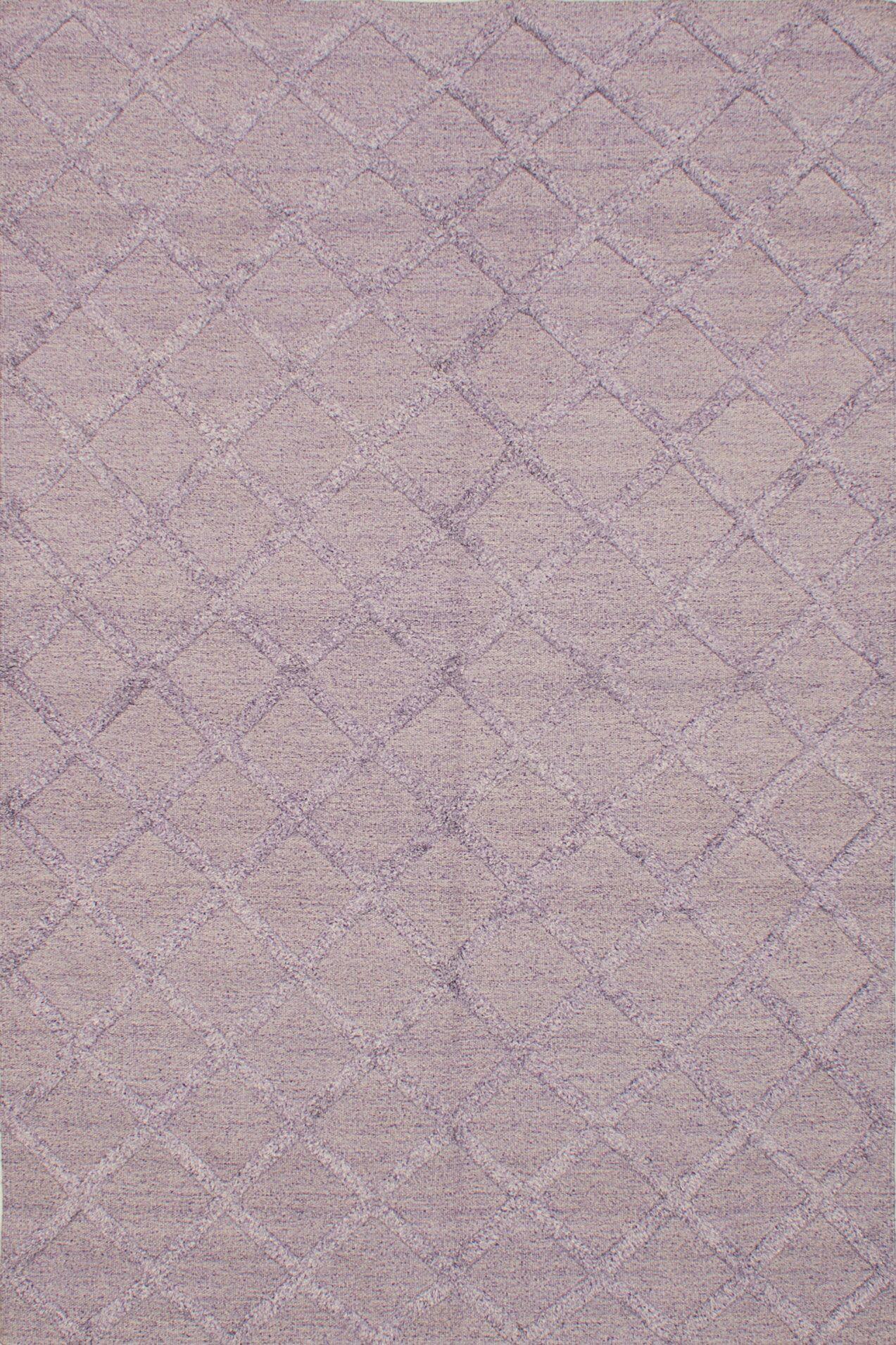 Bonefield Kilim Light Violet Area Rug