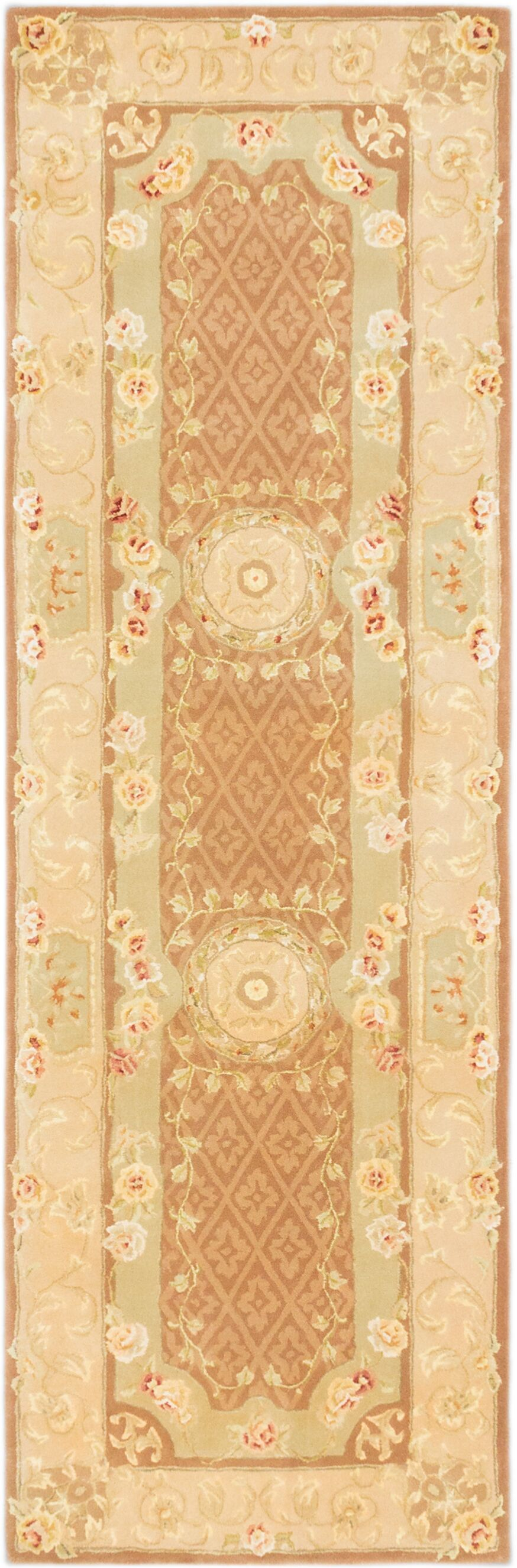Inny Hand-Tufted Brown Area Rug