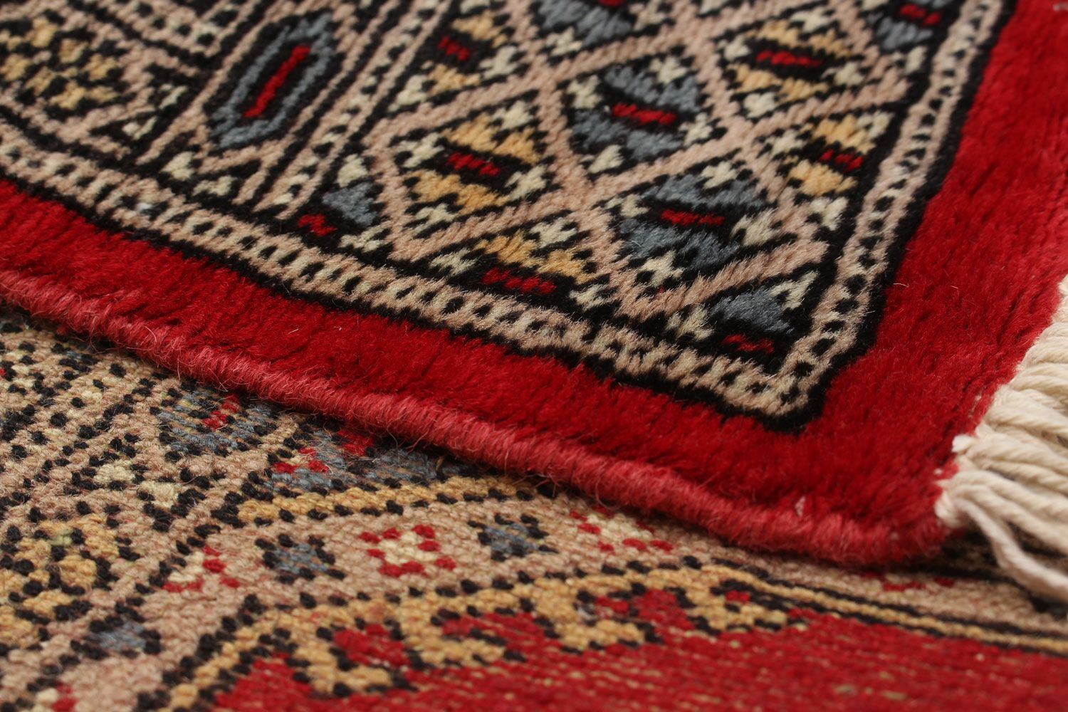 One-of-a-Kind Do Handmade Wool Red Area Rug