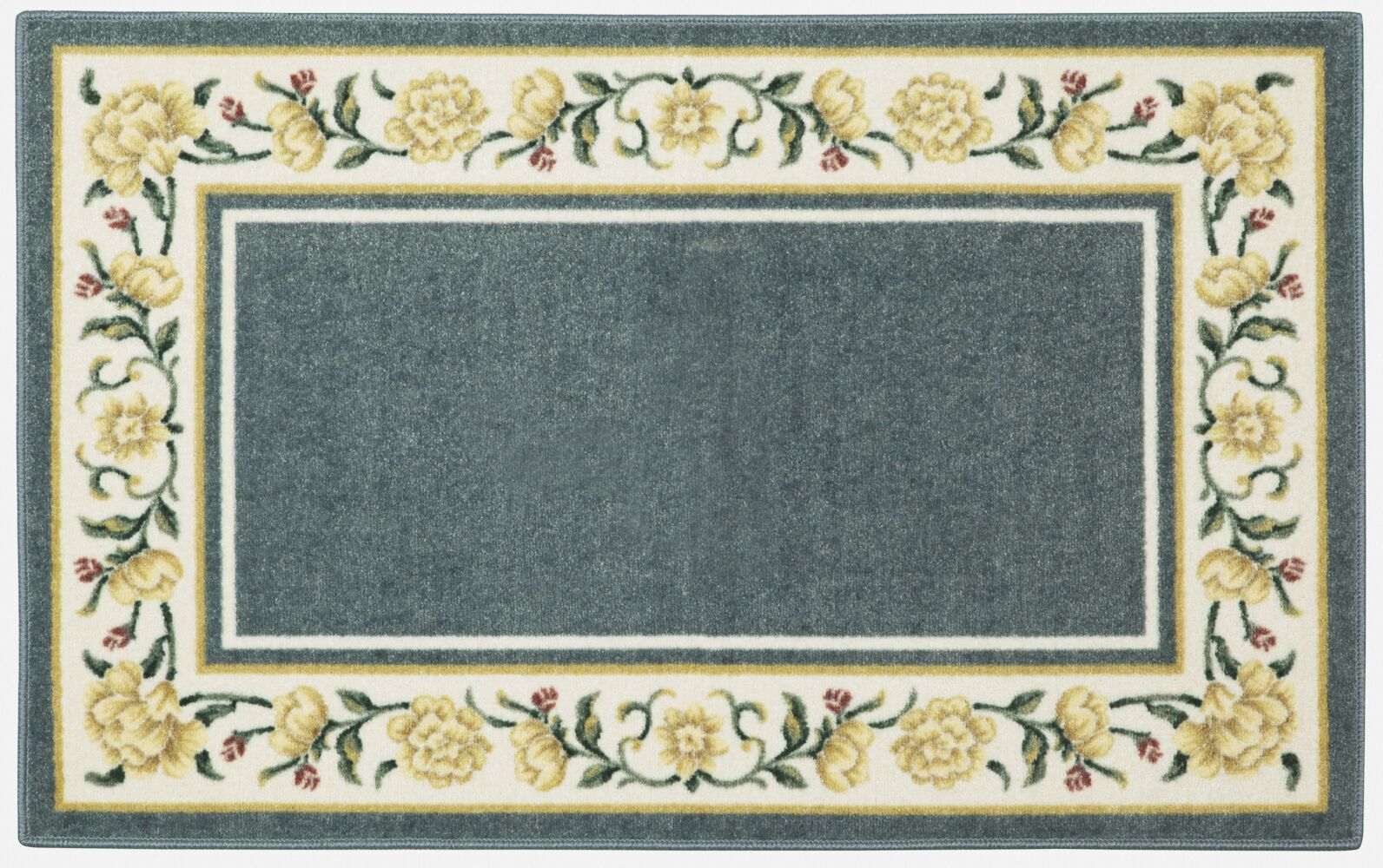 Salina Blue/White Area Rug Rug Size: Rectangle 5' x 8'