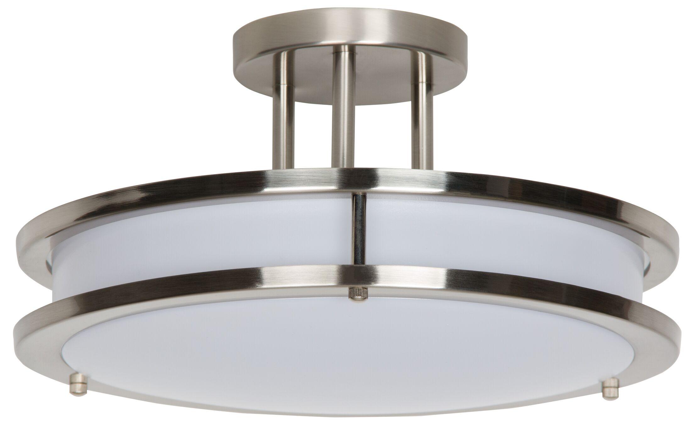 LED Semi Flush Mount