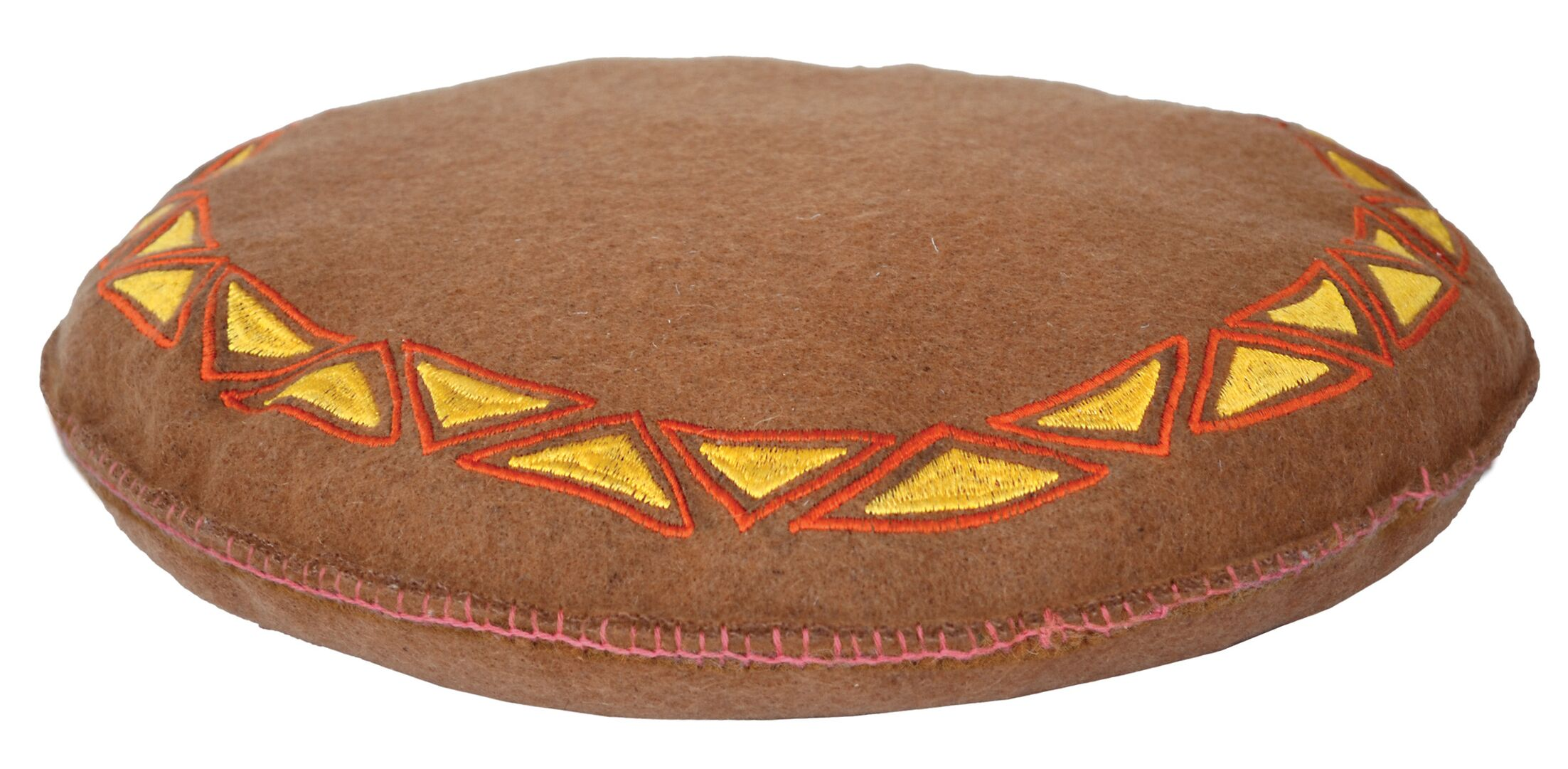 Felt Seater Embroidery Cushion (Set of 2)