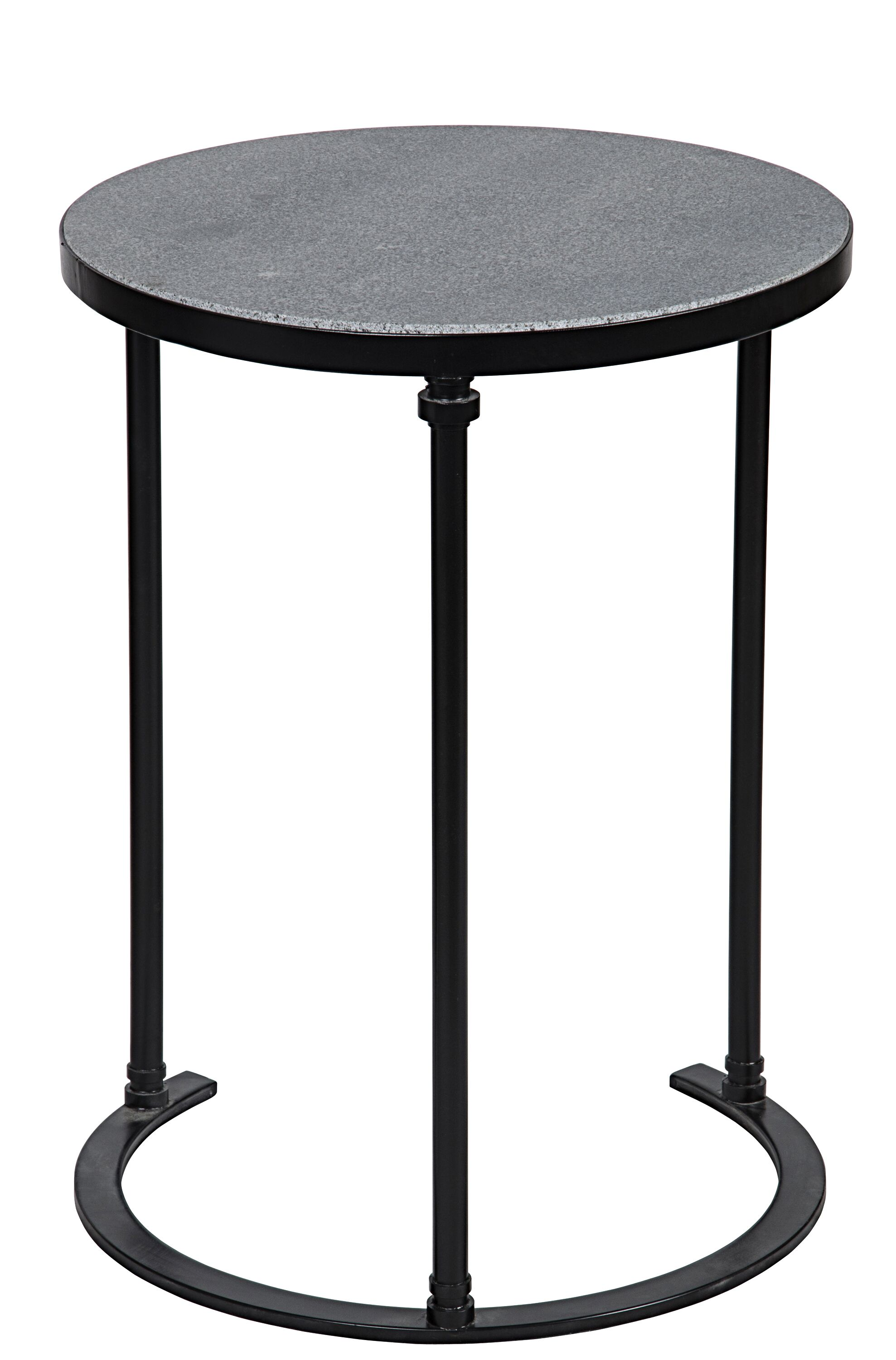 Molly End Table Color: Cast Iron