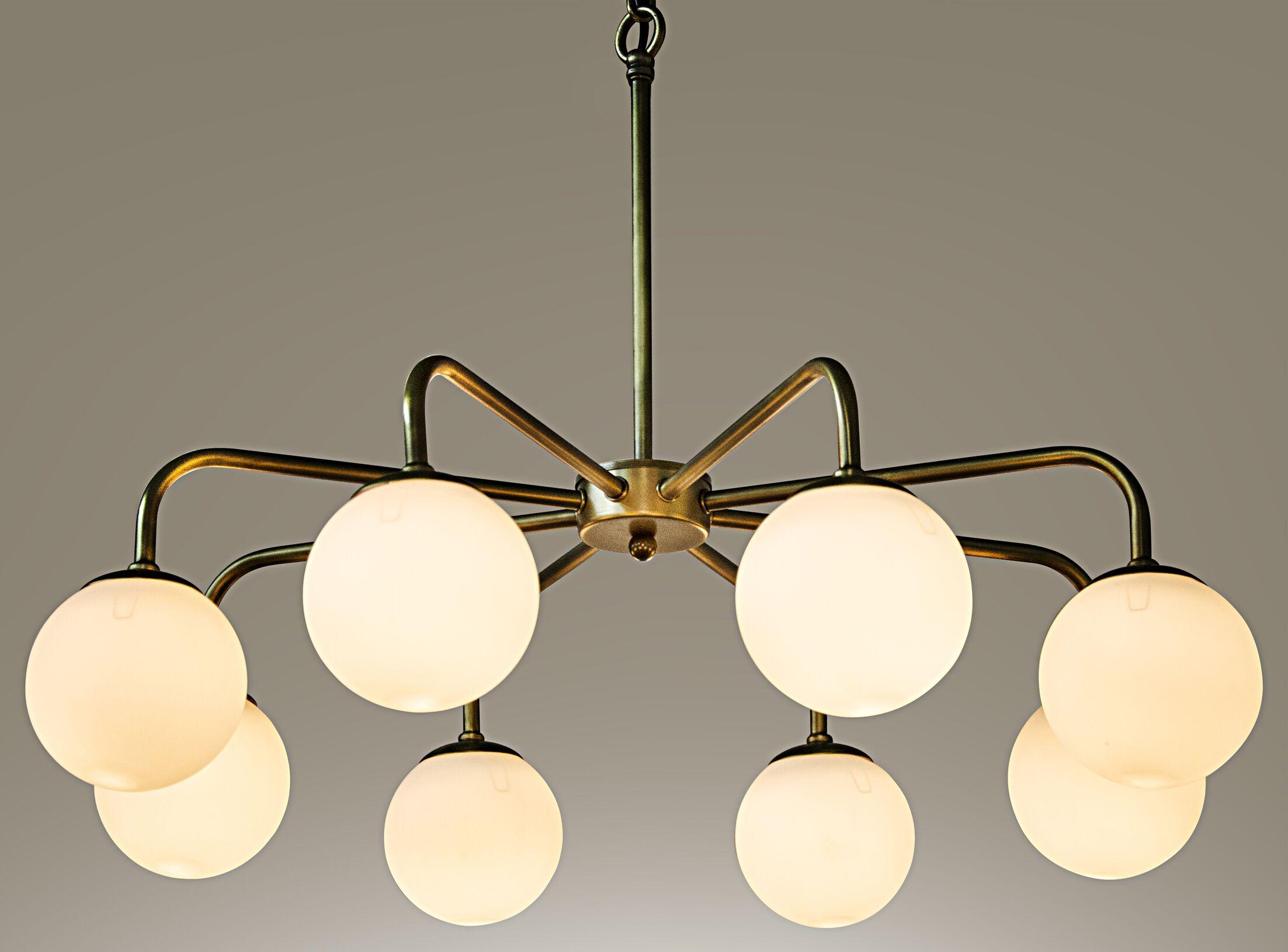 Larenta 8-Light Sputnik Chandelier