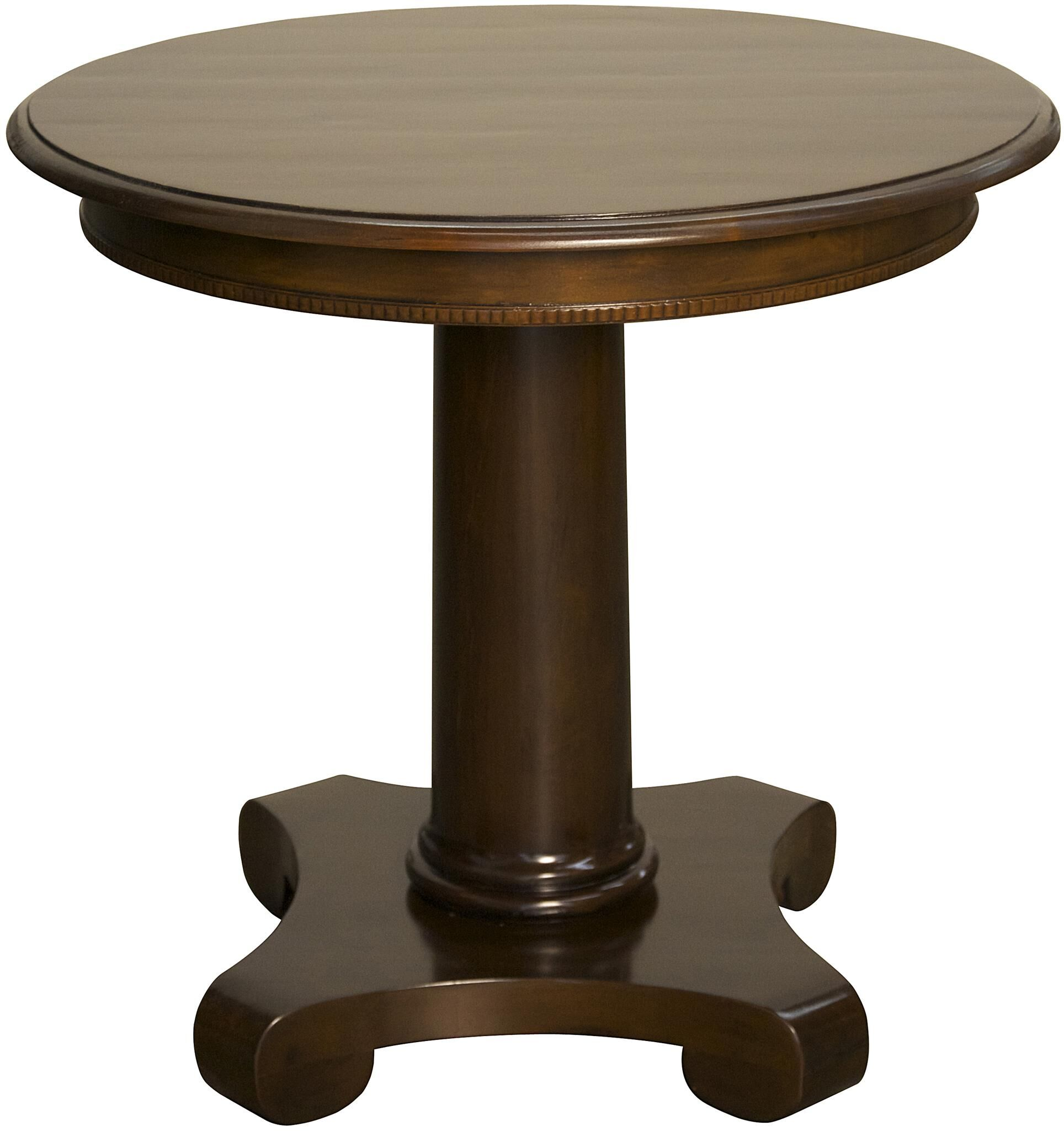 Antigua End Table Color: Distressed Brown