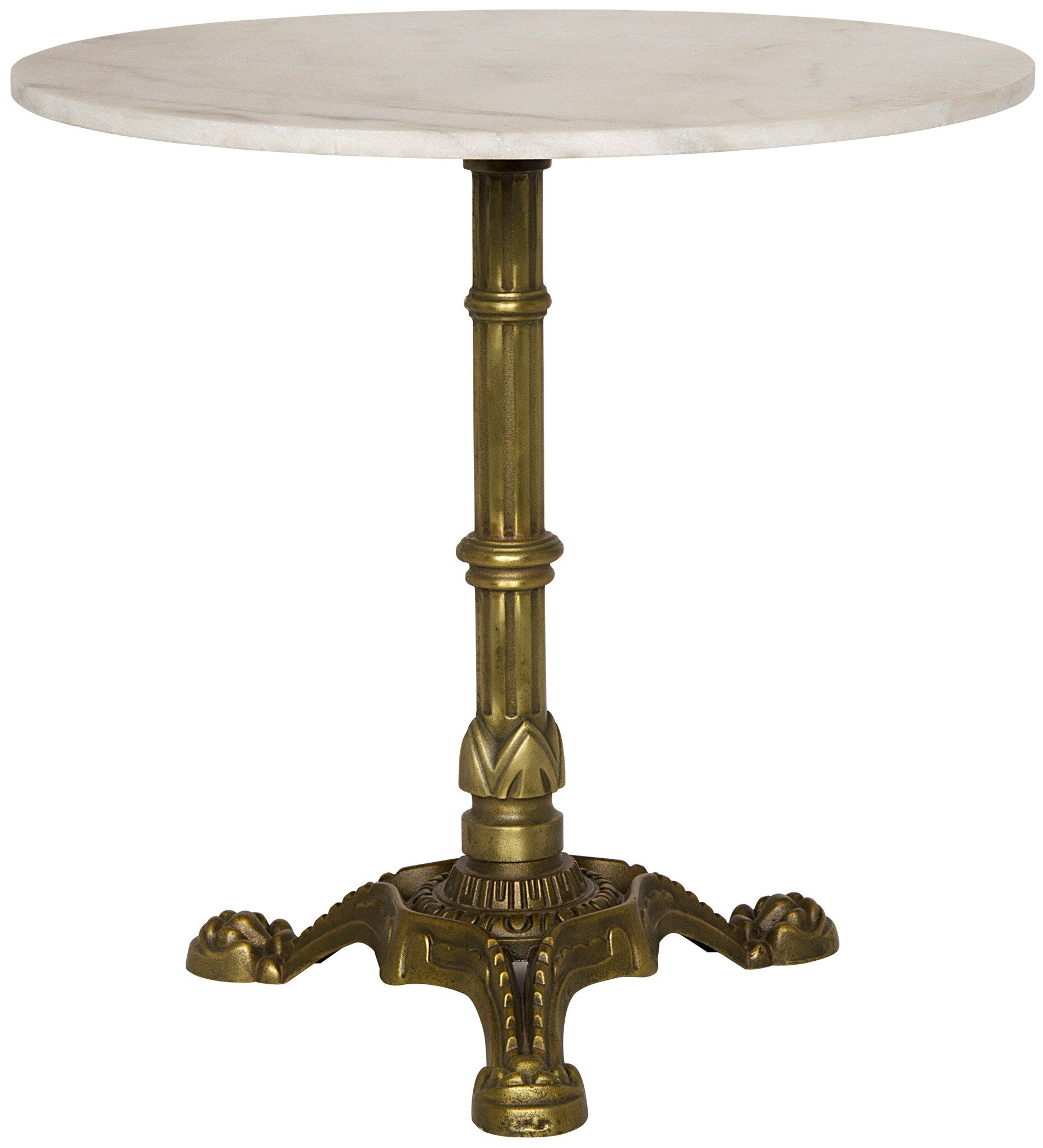 Theresia End Table Color: Gold