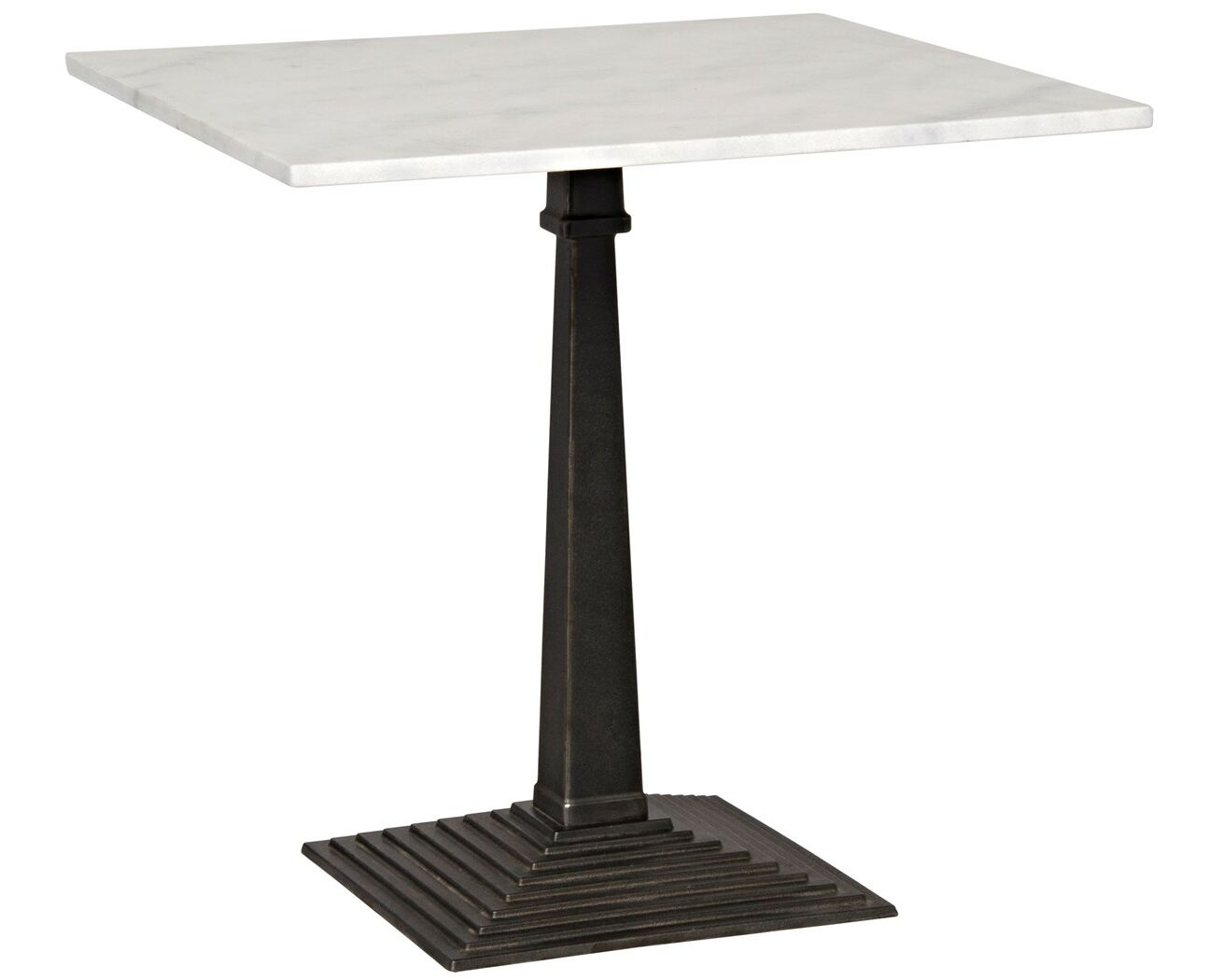 Fadim End Table Color: Dark Metal