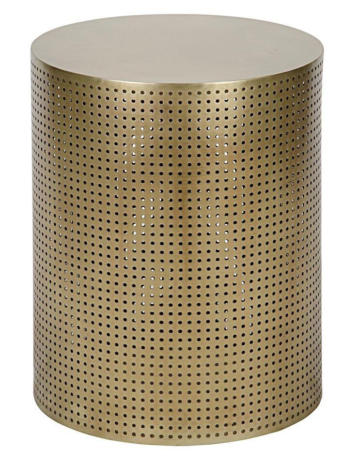 Dixon End Table Color: Brass