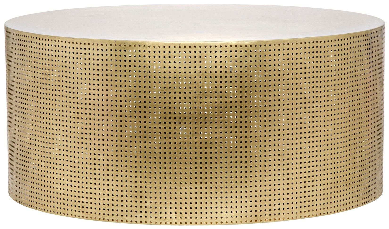 Dixon Coffee Table Color: Brass