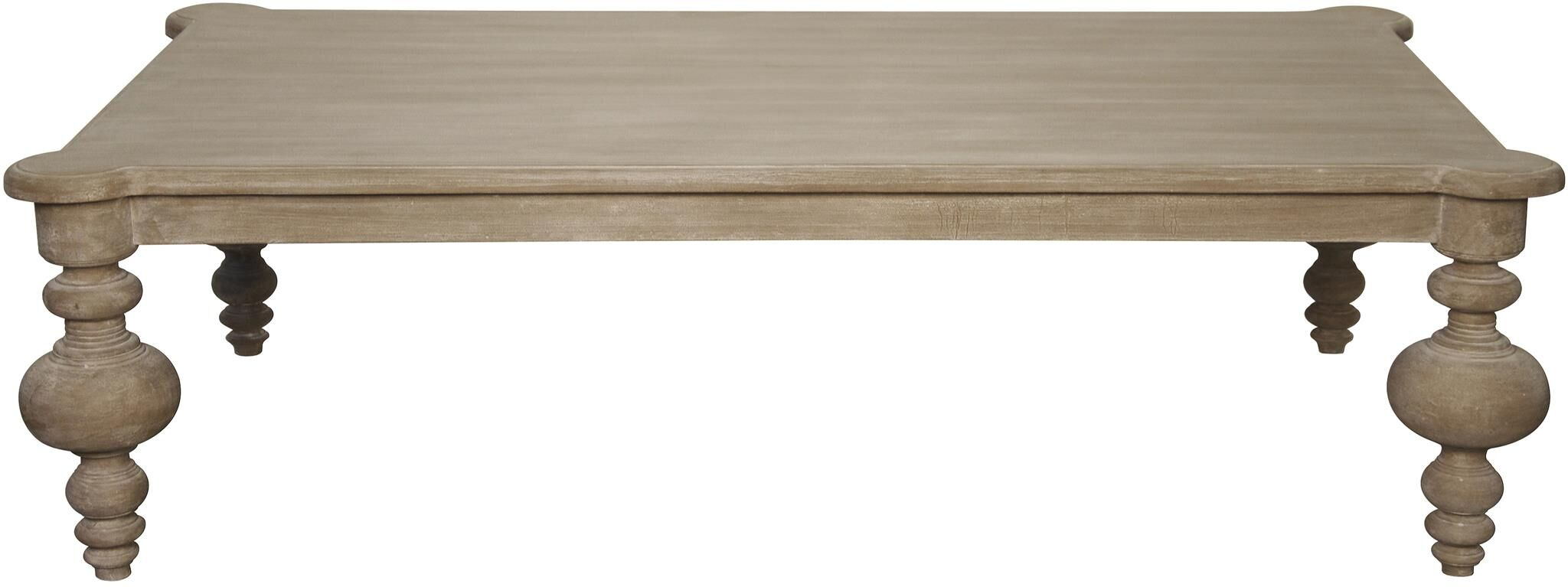 Graff Coffee Table Color: Weathered