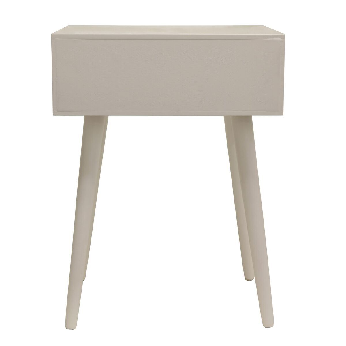 Grant End Table With Storage Finish: Gloss White