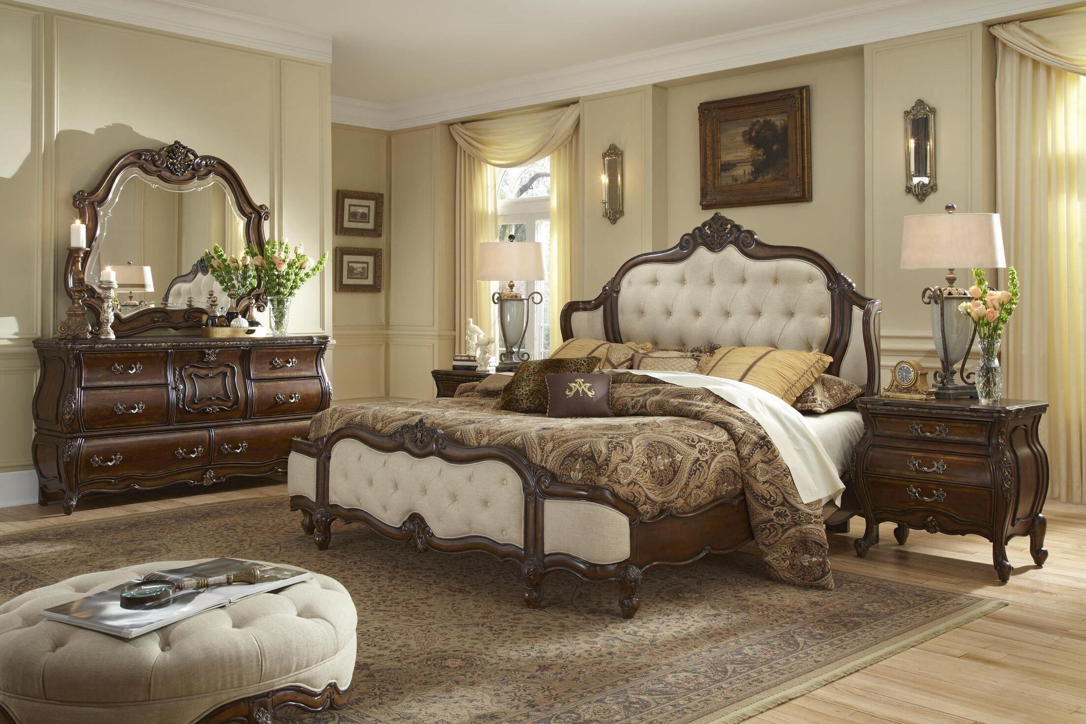 Lavelle Platform Configurable Bedroom Set