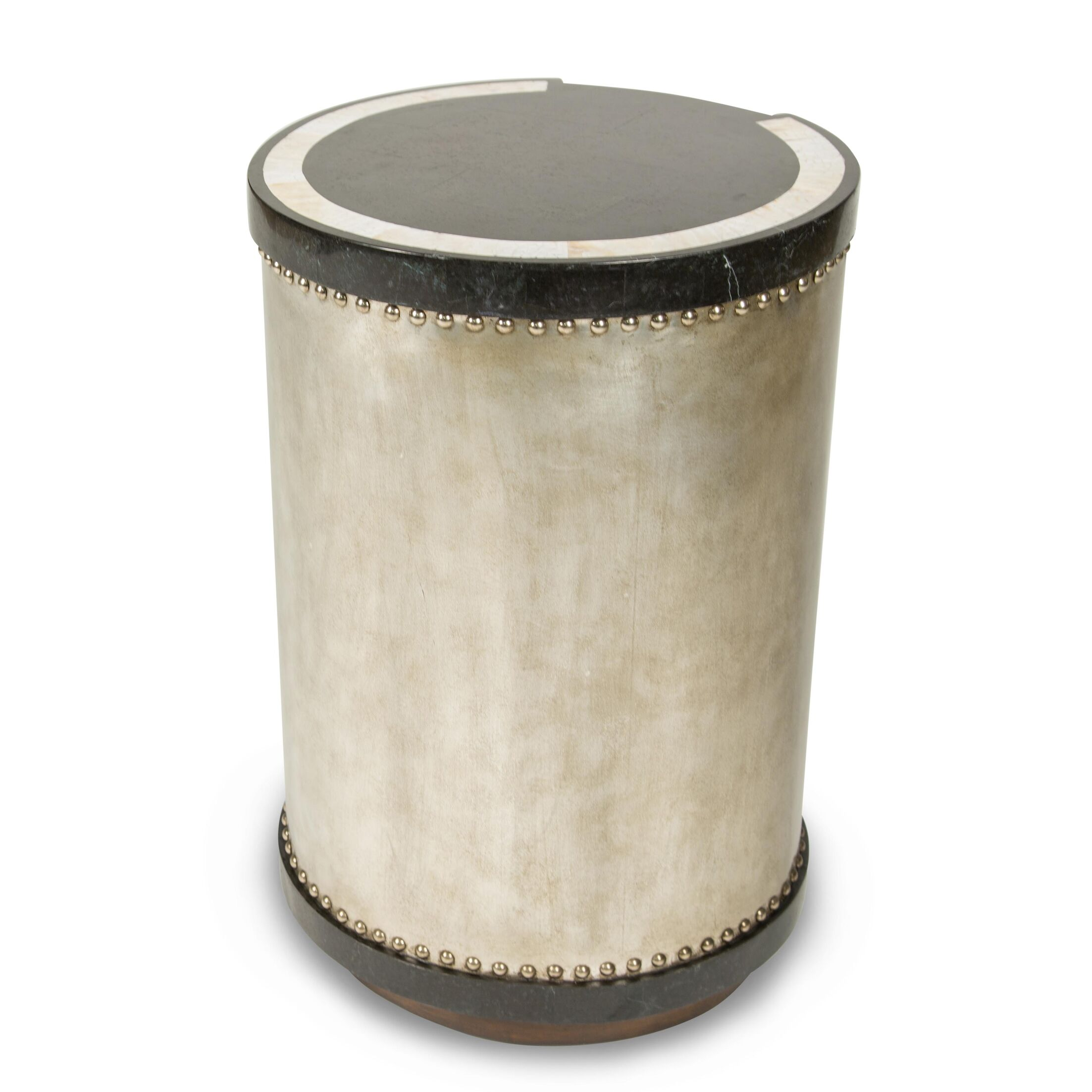 Discoveries Drum End Table