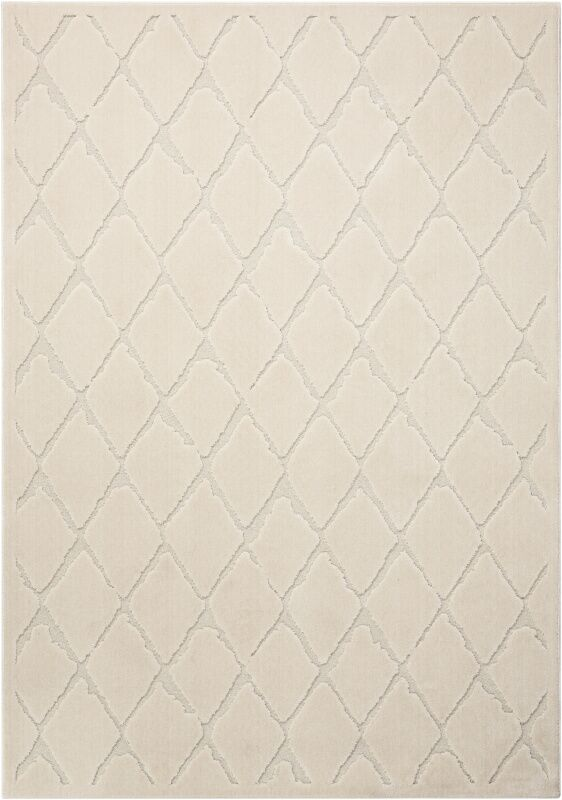 Gleam Ivory Area Rug Rug Size: Rectangle 7'10