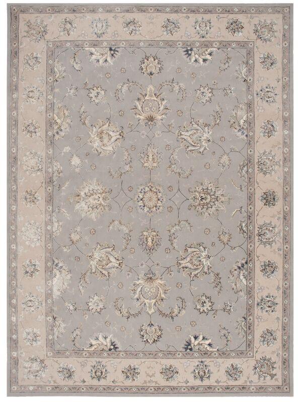Serenade Hand Woven Gray Area Rug Rug Size: Rectangle 5'3