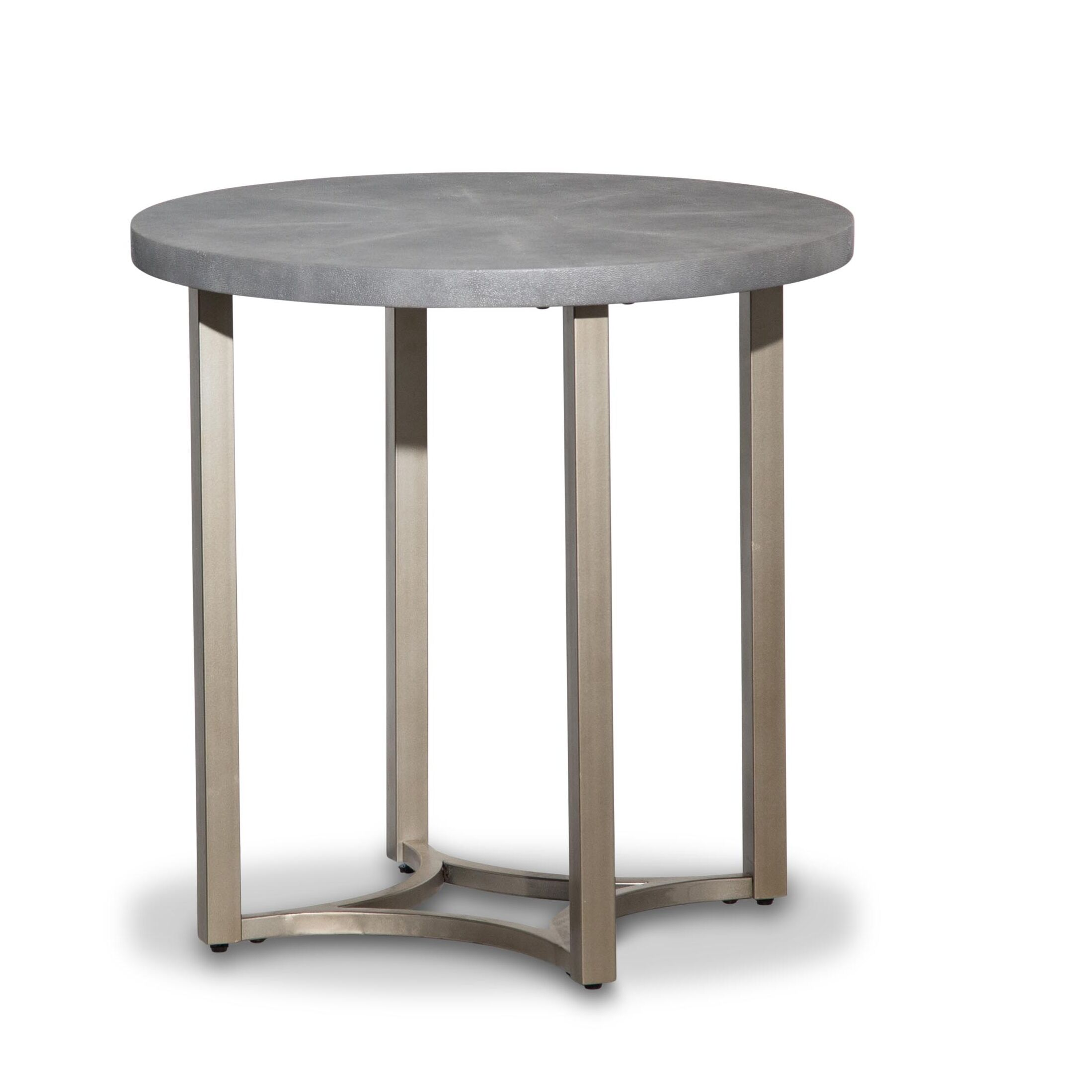 Alta End Table Color: Gray