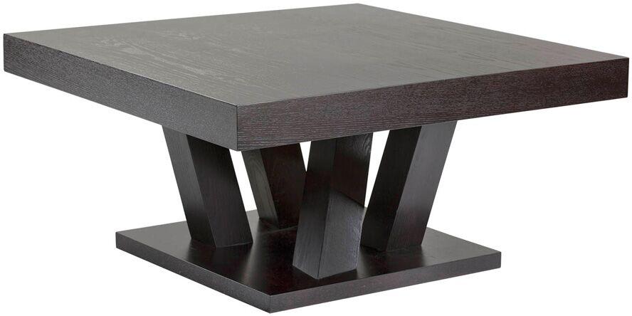 Ikon Madero Coffee Table Color: Dark Espresso