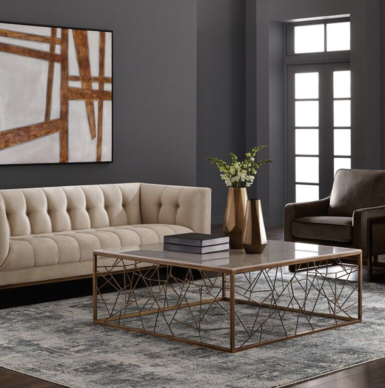 Irongate Coffee Table