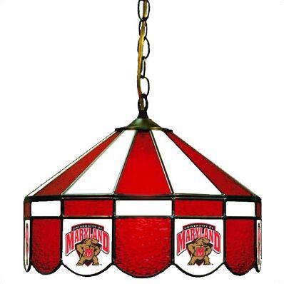 NCAA Wide Swag Hanging Lamp NCAA Team: Maryland