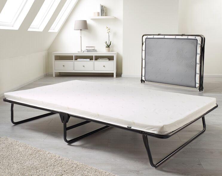 Saver Folding Bed with Airflow Fiber Mattress Size: Single