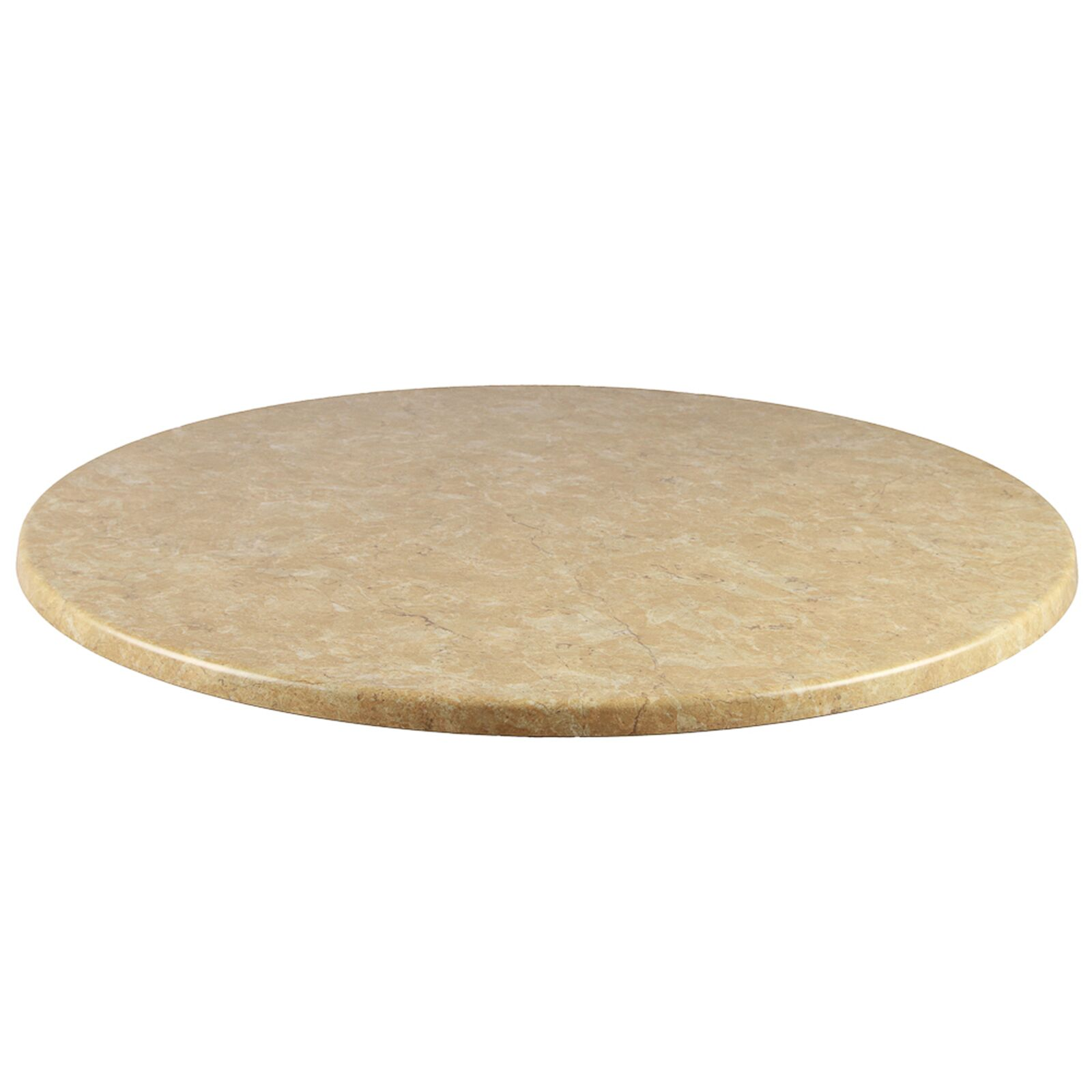 Duratop Round Table Top Finish: Colorado, Table Size: 28