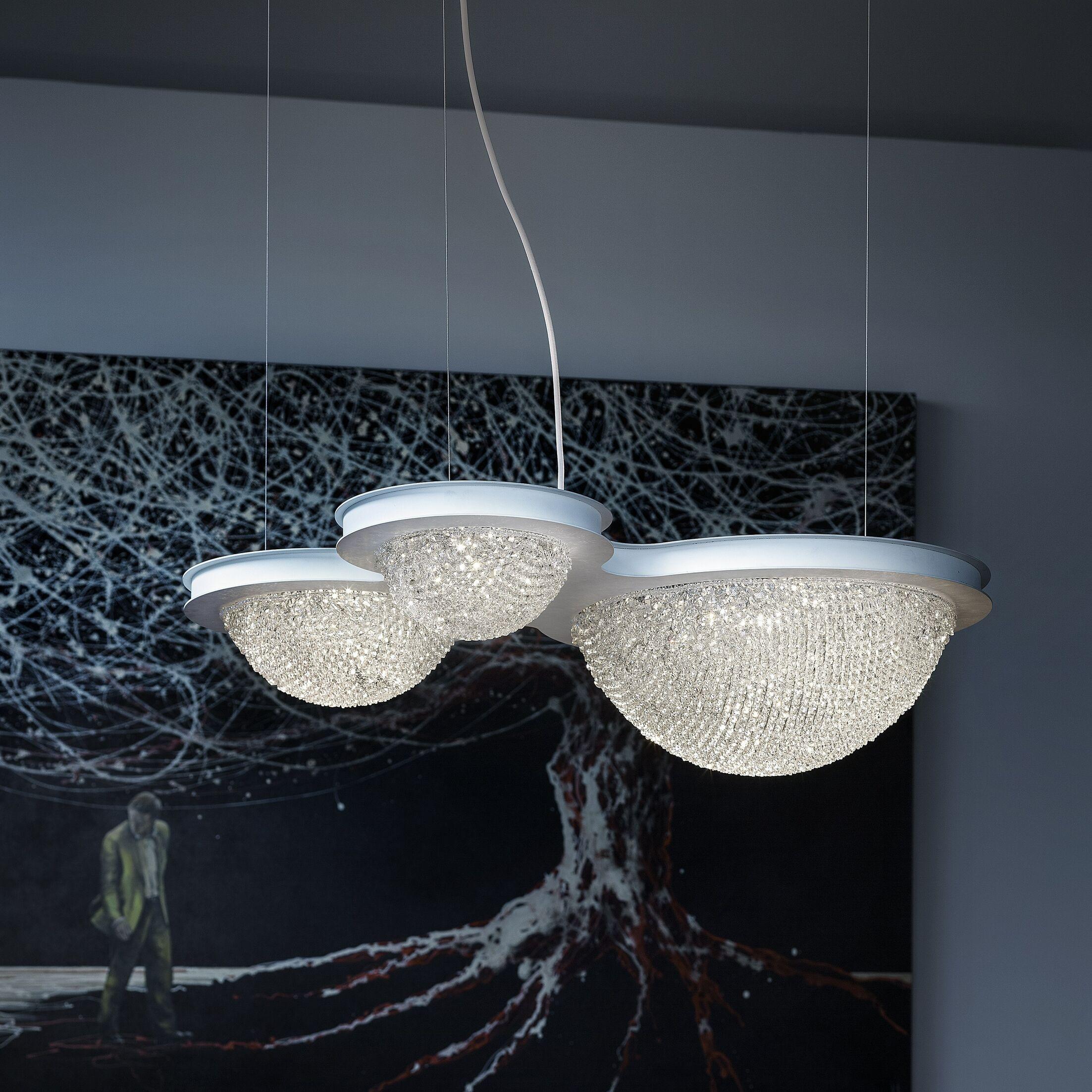 Bool 3-Light Crystal Chandelier