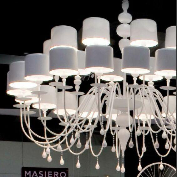 Eva 30 Light Chandelier Finish: Gloss Magenta