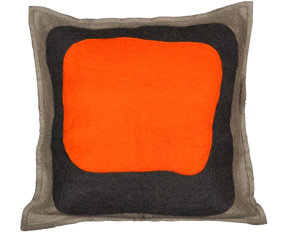 Demarest Wool Throw Pillow