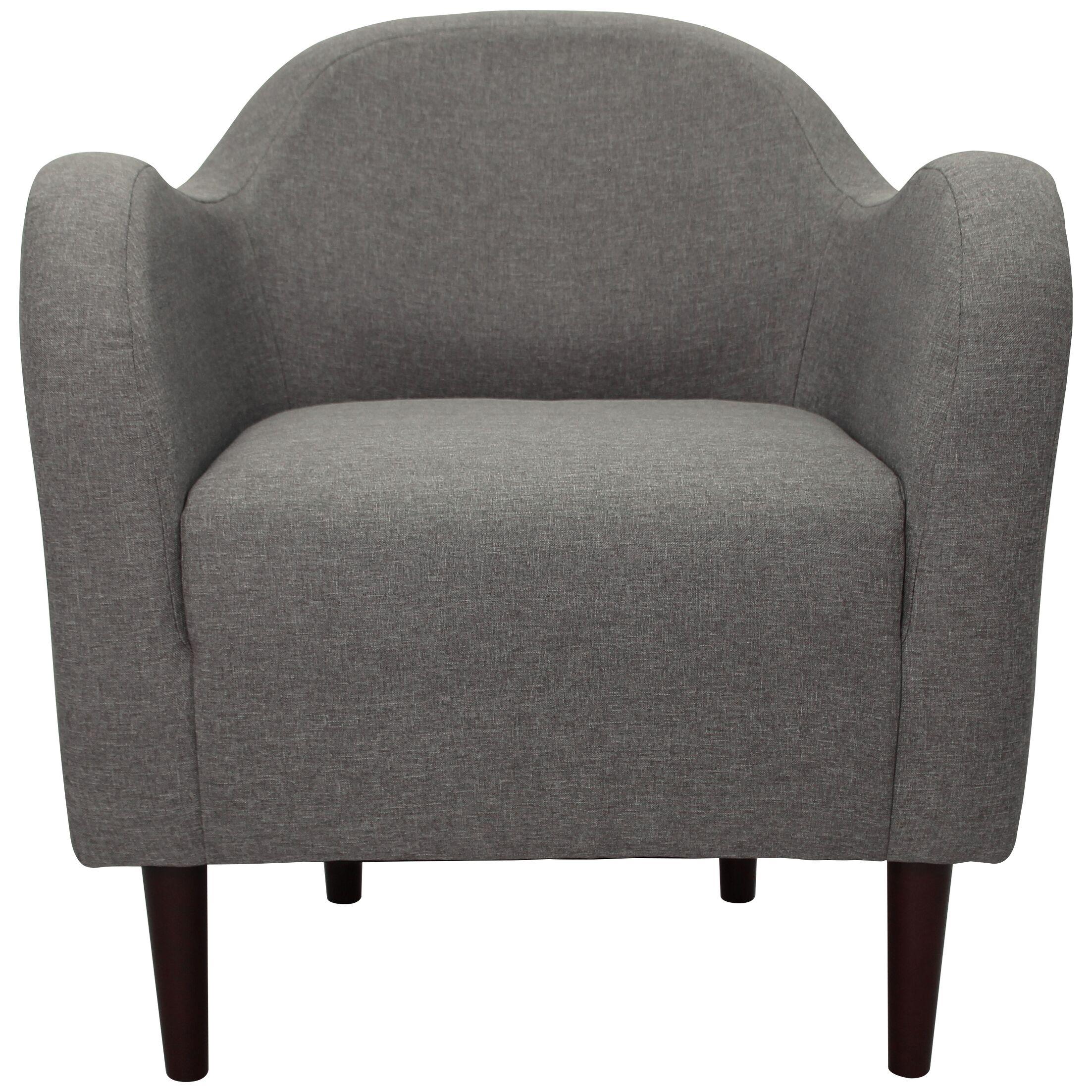 Reider Mid Century Armchair Upholstery: Quartz