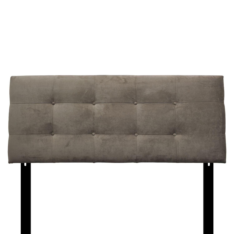 Ali Eastern King Upholstered Panel Headboard Upholstery: Diva Driftwood
