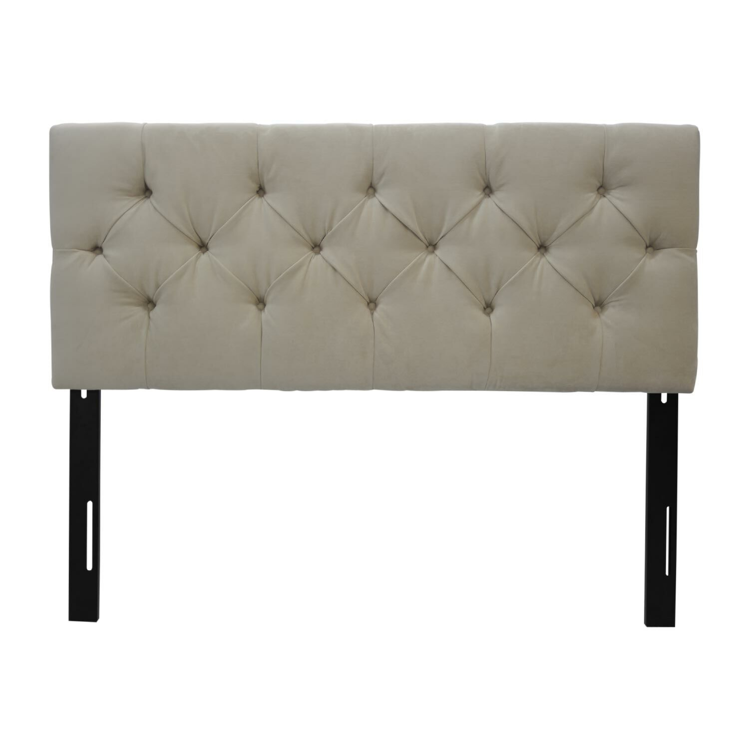 Jackie Full Upholstered Panel Headboard Upholstery: Diva Pearl