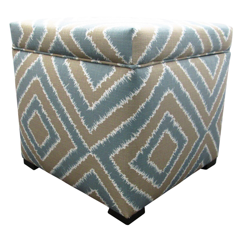 Tami Cube Ottoman Upholstery: Nouveau Capri