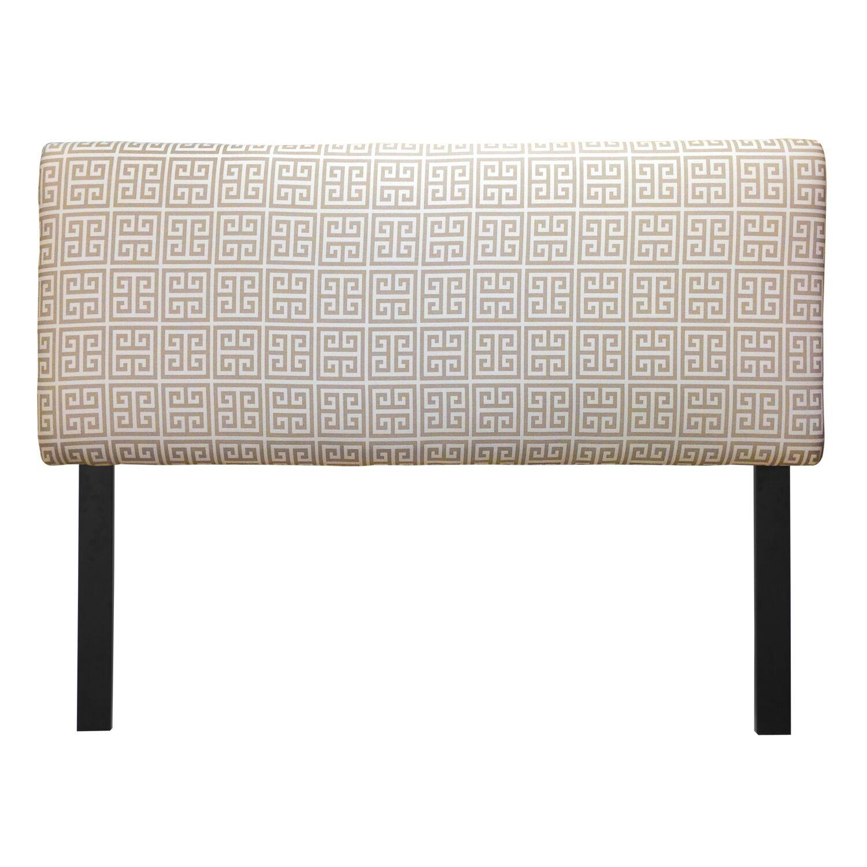 Ali Towers Upholstered Panel Headboard Size: Twin, Upholstery: Onyx Grey
