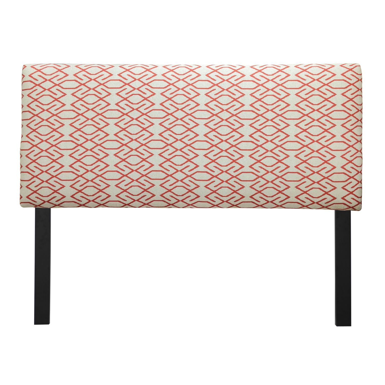 Ali Zoe Mandarin Upholstered Panel Headboard Size: Eastern King