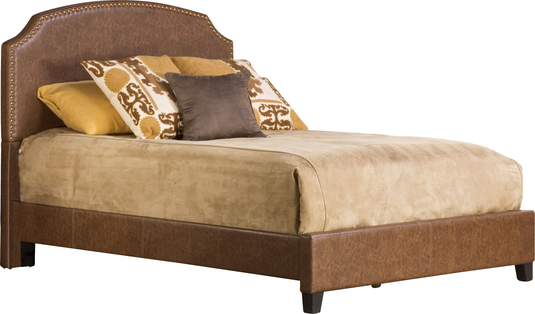 Durango Upholstered Panel Bed Size: King