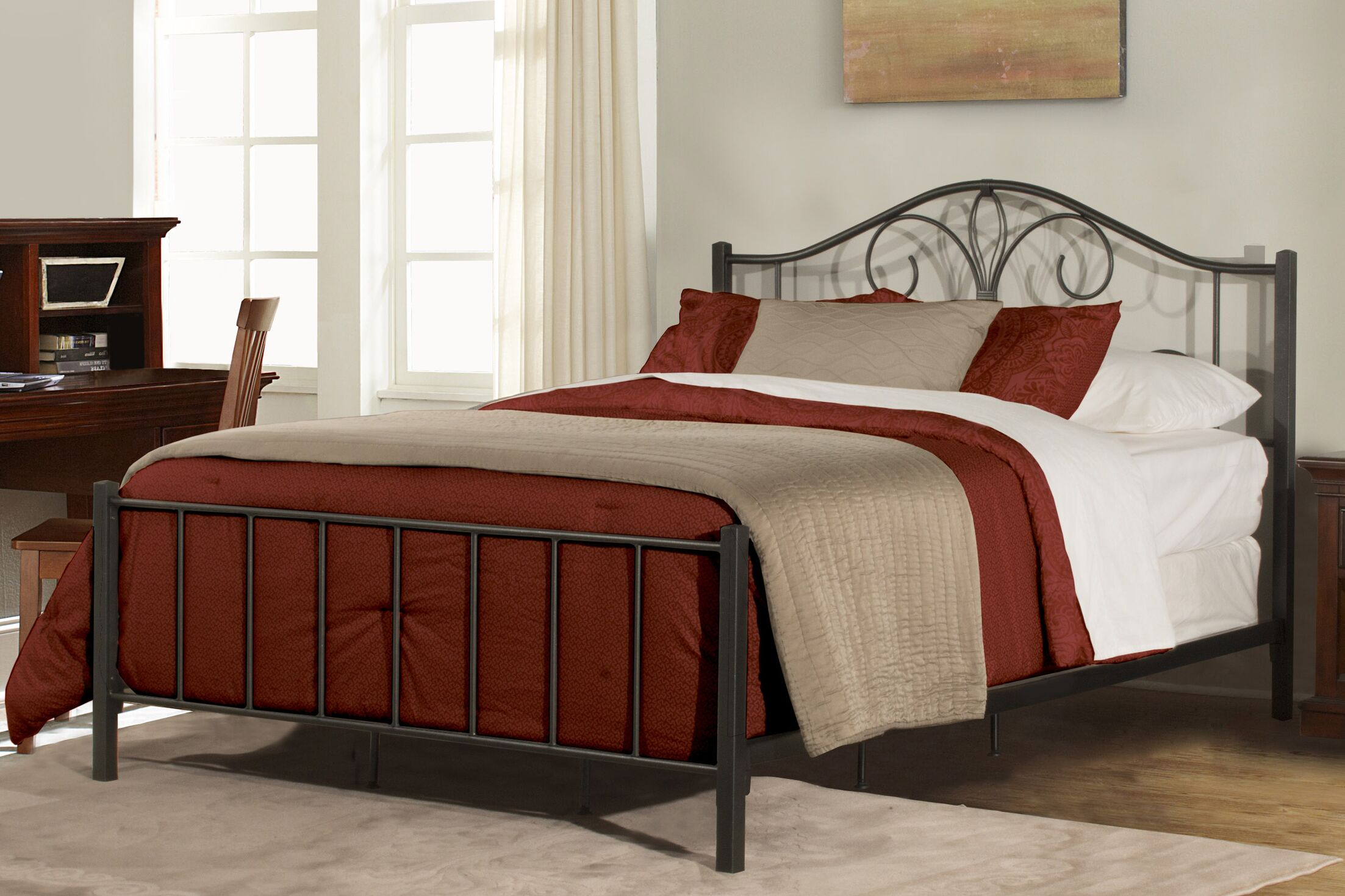 Keele Panel Bed Size: Full