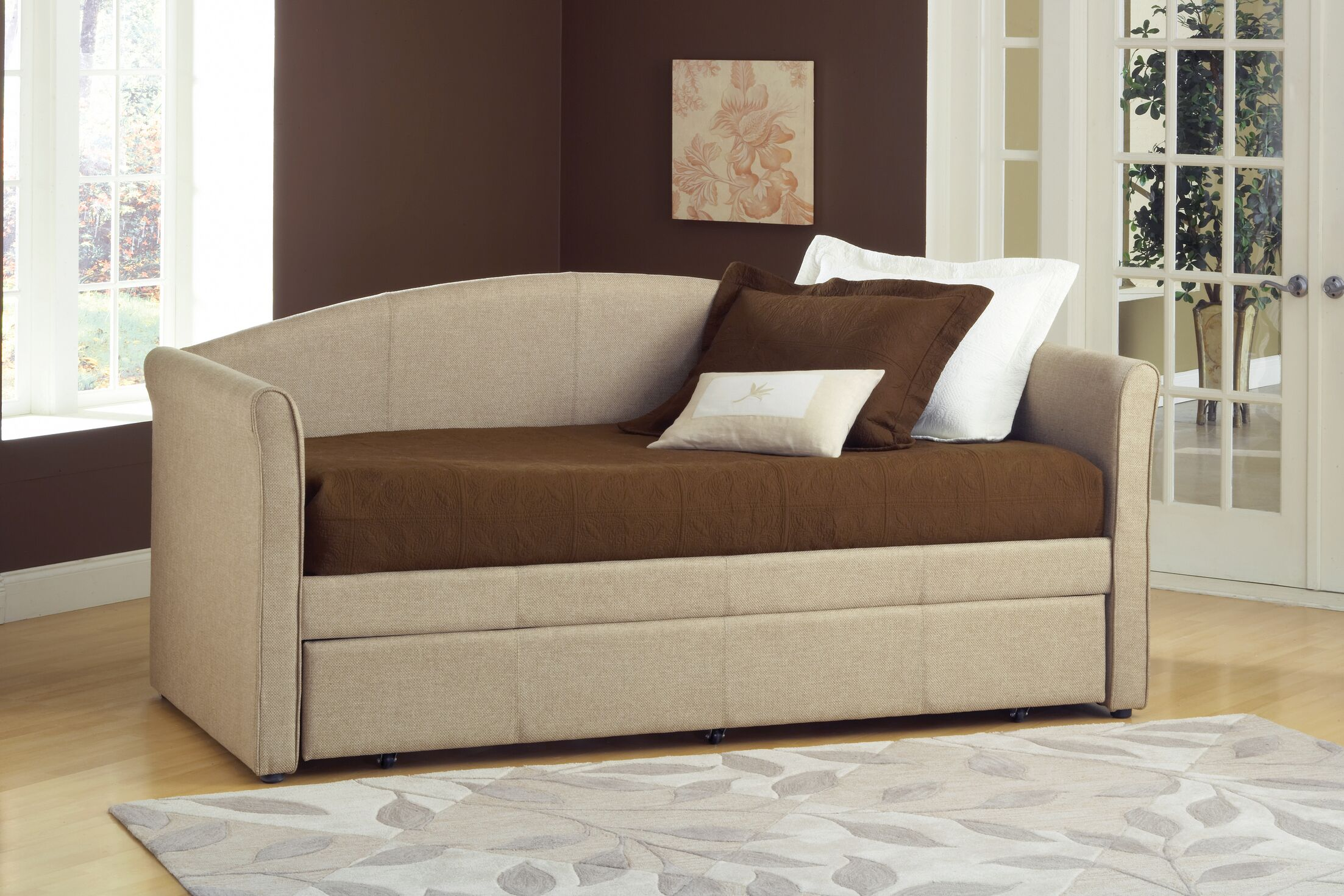 Siesta Daybed with Trundle Accessories: No Trundle